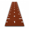 sprinttrack numbered redclay