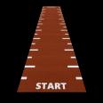 sprinttrack startfinish redclay